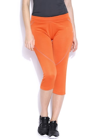 Proline Active Orange Capris at myntra