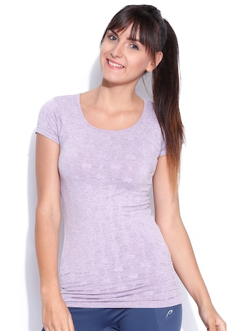 Proline Active Purple Top at myntra