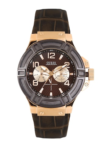 GUESS Men Brown Dial Watch W0040G3 at myntra