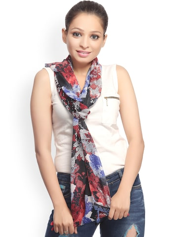 CoolThreads Women Multicoloured Printed Scarf at myntra