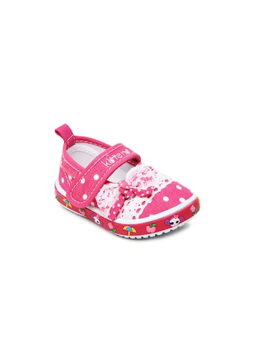 Kittens Girls Pink Flat Shoes available at Myntra for Rs.500