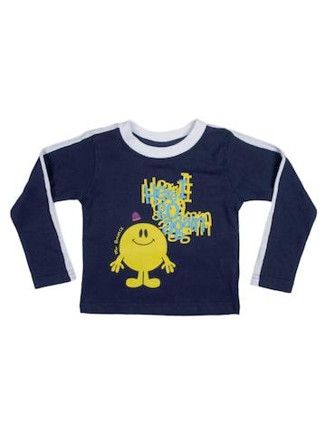 buy mr miss boys navy blue mr bounce t shirt
