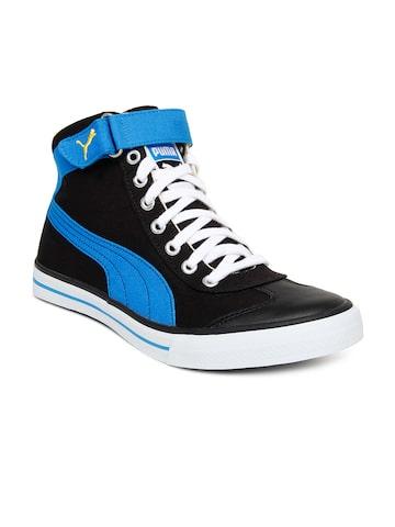 buy puma unisex black casual shoes  632  footwear for