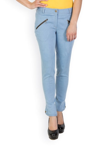 Rider Republic Women Blue Slim Fit Jeans at myntra