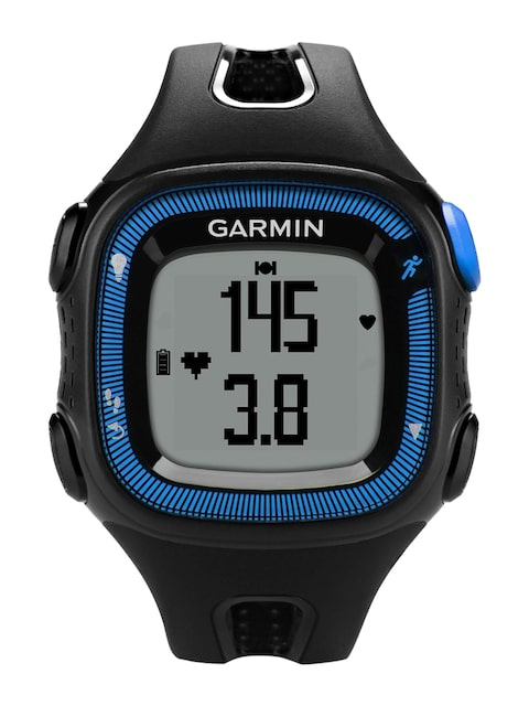Garmin-Forerunner-15-Unisex-Black-&-Blue-Smart-Watch