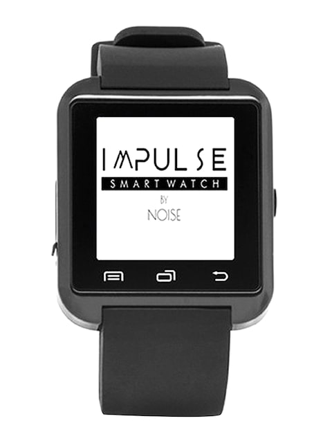 NOISE-Impulse-Unisex-Black-Bluetooth-Smart-Watch