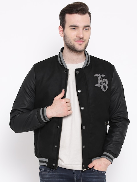 20 - 60% Off On Flying Machine Products By Myntra | Flying Machine Black Jacket @ Rs.3,574