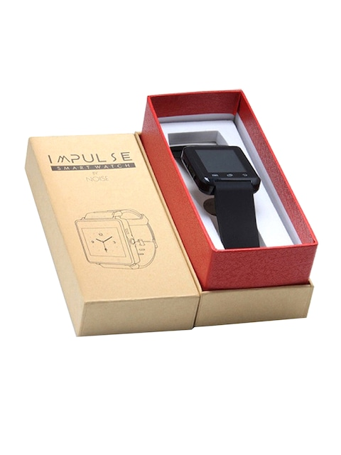 NOISE Unisex Black Impulse Bluetooth Smart Watch – Shop Online at Myntra.com
