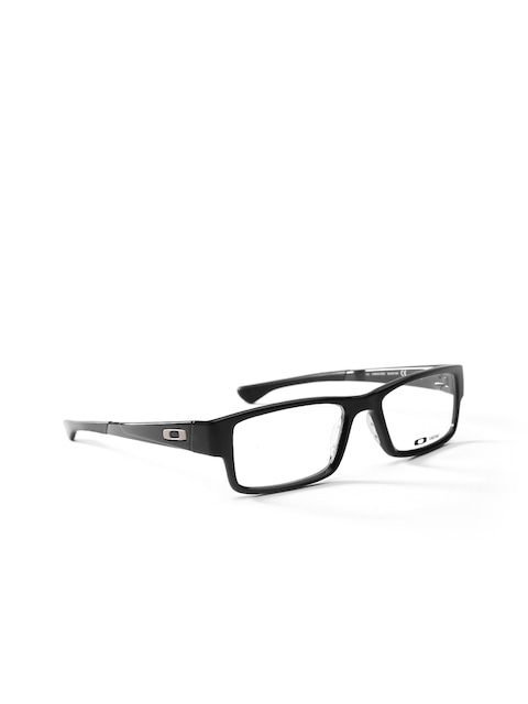 mens glasses oakley xhx4  Buy OAKLEY Men Black Rectangular Frames 0OX804680460253