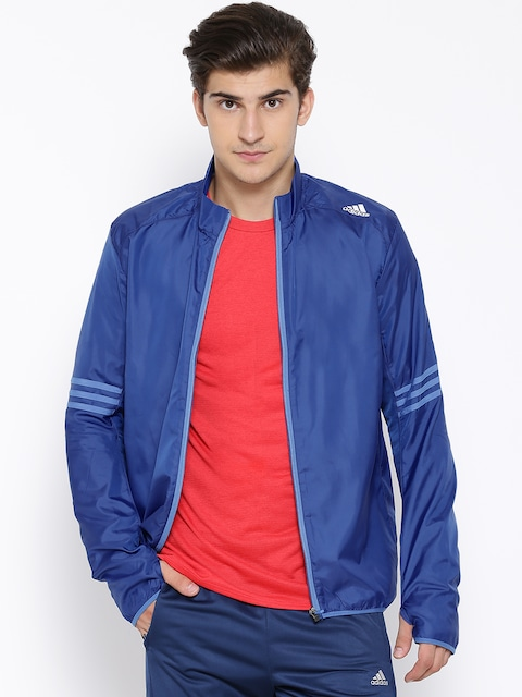 Adidas Blue RS Windcheater Running Jacket low price