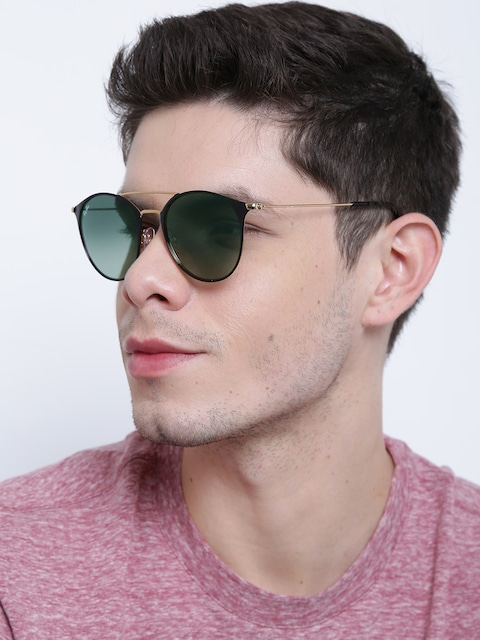 ray ban unisex round sunglasses  buy ray ban unisex round sunglasses 0rb3546187/7152 sunglasses for unisex