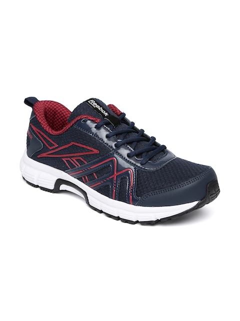 6aab1f3baaa Reebok Men Navy Blue Adapt Run LP Running Shoes available at Myntra for  Rs.1649
