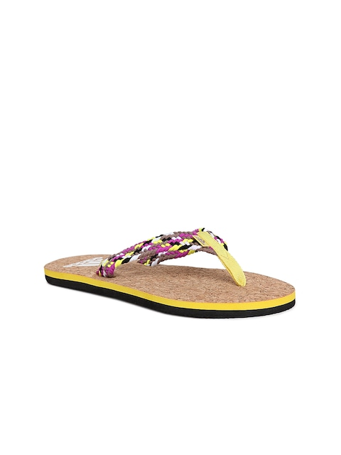 a678eb3524edb Adidas Women Multicoloured Beach Cork Thong WS Braided Flip Flops available  at Myntra for Rs.