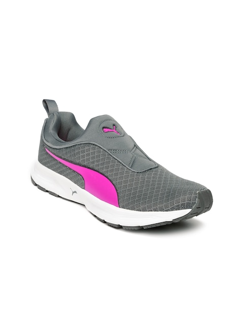 5bb7b3c78 Puma Women Grey Burst Slip On IDP Running Shoes Puma Sports Shoes available  at Myntra for