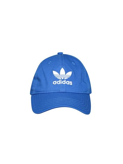 0c87849aa3c Adidas Originals Unisex Blue TREFOIL Cap Adidas Originals Caps available at  Myntra for Rs.1299