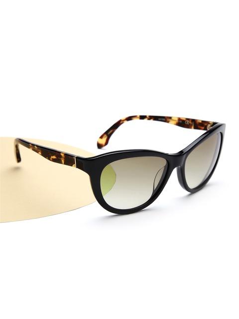 Calvin Klein Cat Eye Sunglasses  calvin klein women printed cateye sunglasses ck 4158 320