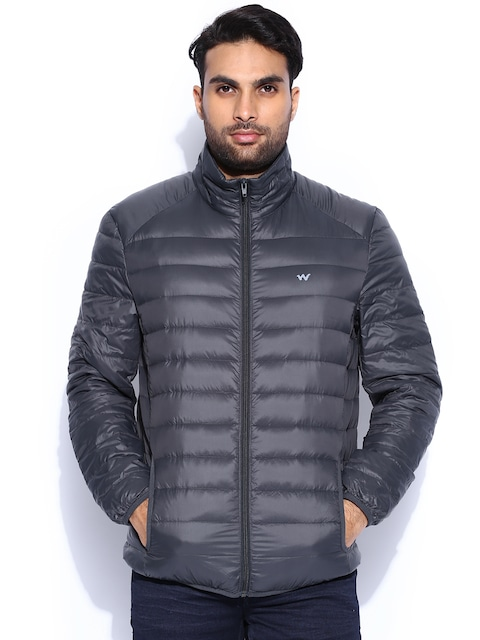 Buy Wildcraft Charcoal Grey Lightweight Padded Jacket - Jackets ...