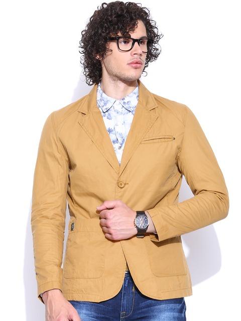 SPYKAR Mustard Yellow Jacket