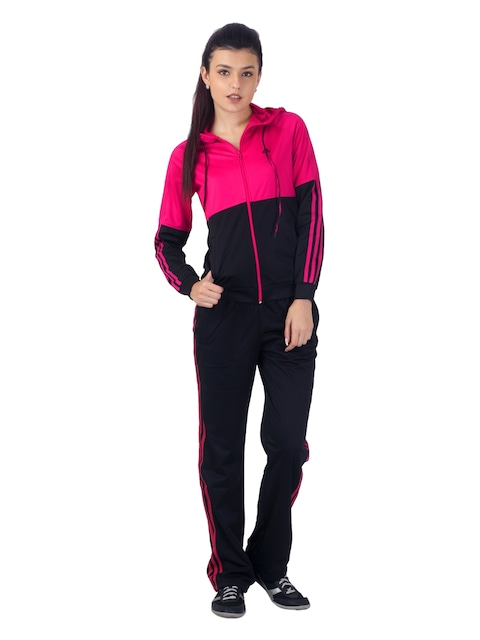 adidas tracksuit womens pink