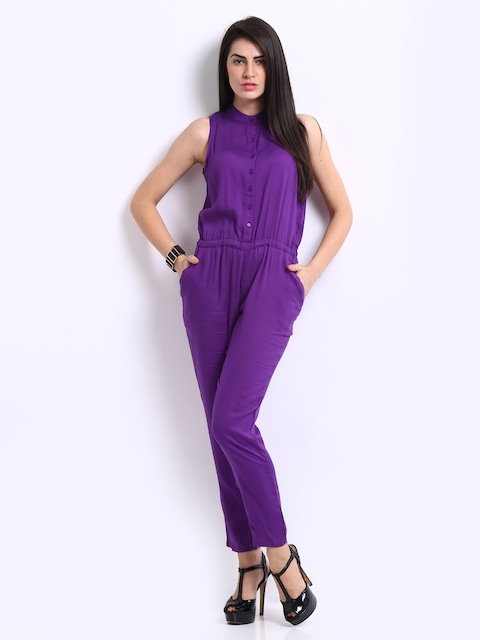 Images of Purple Jumpsuit - Reikian
