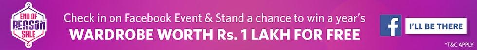Myntra Offer Wardrobe worth rs 1 lakh