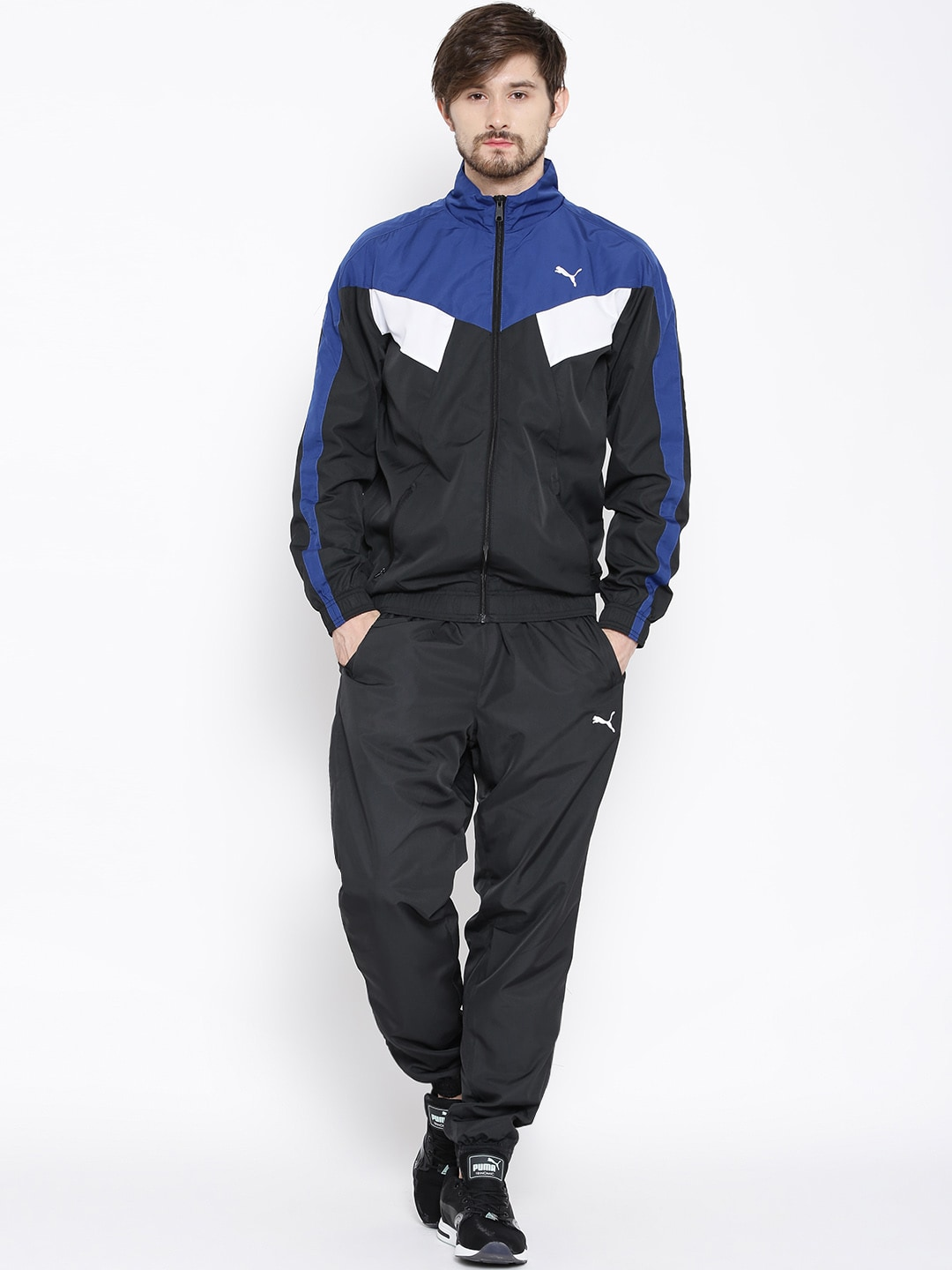 298051600abd Puma 83785401 Black Style Woven Cl Tracksuit - Best Price in India ...