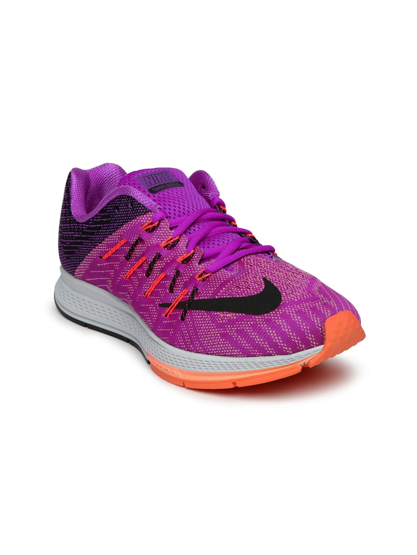 official photos 24168 ae8bc Nike 748589-500 Women Purple And Black Air Zoom Elite 8 ...