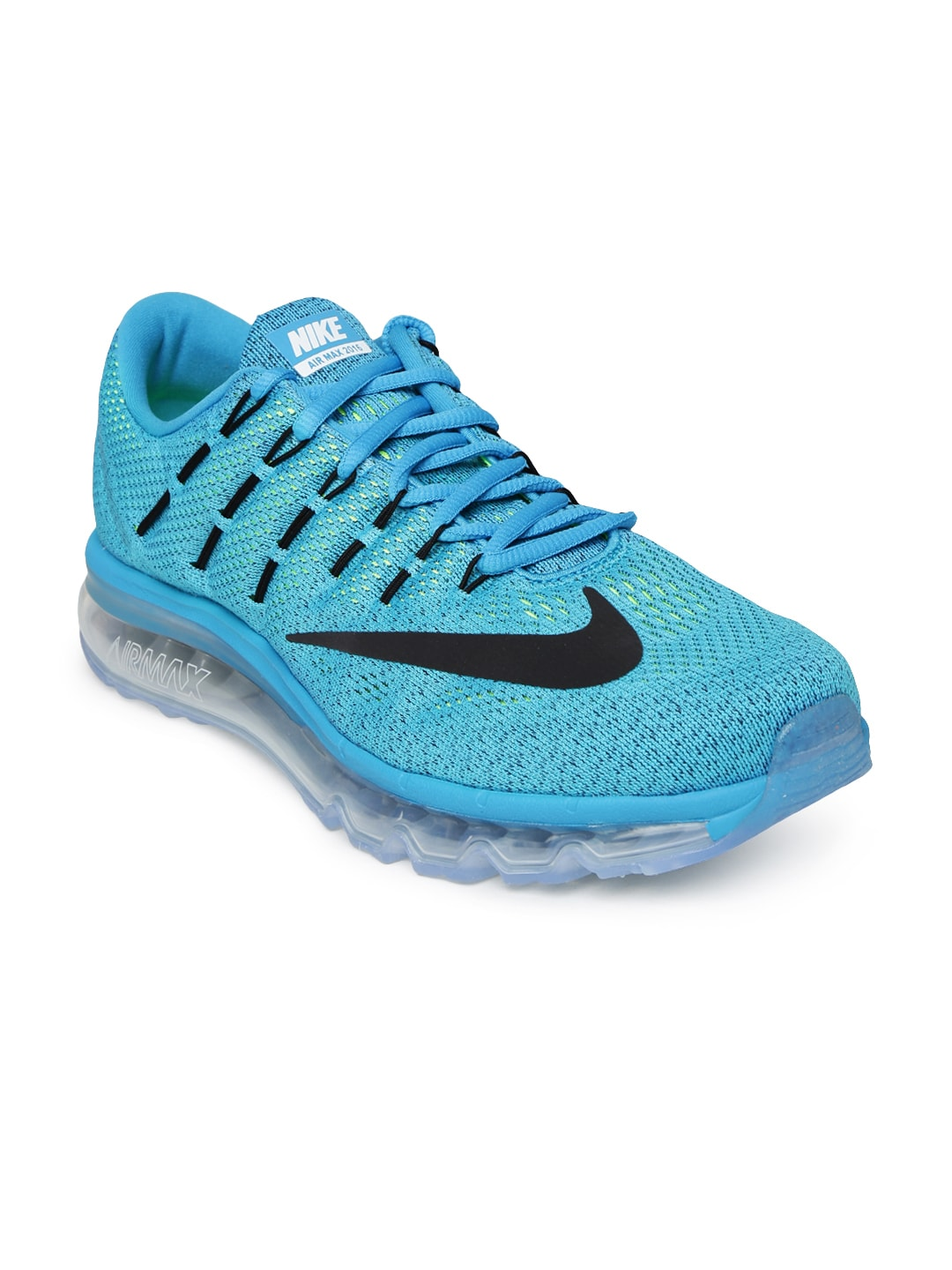 60ee027c2c Nike 806771-400 Men Blue Air Max 2016 Running Shoes - Best Price ...