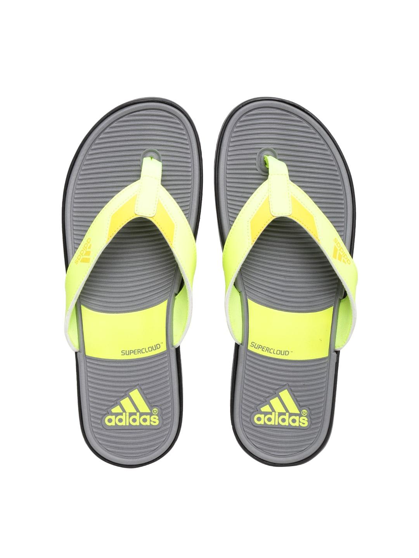 ba2dd305ae67 Adidas an6658 Men Neon Green Orrin Flip Flops - Best Price in India ...
