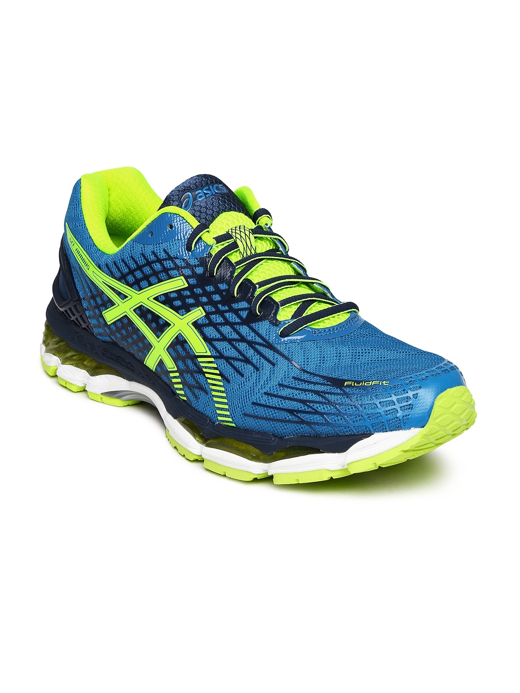 more photos 061ec d504c Asics t507n-3907 Men Blue Gel Nimbus 17 Running Shoes ...