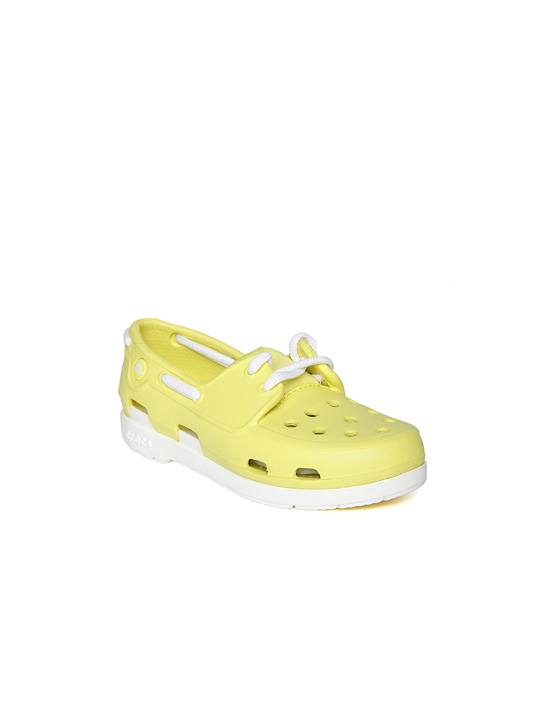 fb9b456ec538 Crocs 15915-3i6-c7 Kids Yellow Boat Shoes - Best Price in India ...