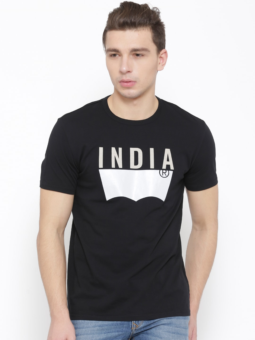 289d6822789 Levis 16961-0162 Black Graphic Print T Shirt - Best Price in India ...