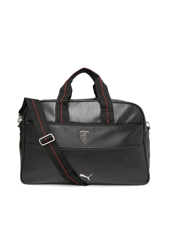 ee9073e6e18e Puma 7349701 Unisex Black Ferrari Ls Weekender Duffle Bag - Best ...