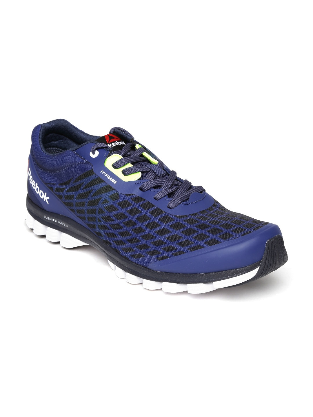 f8607ce5e6ce8e Reebok v66152 Men Blue Sublite Super Duo Running Shoes- Price in India