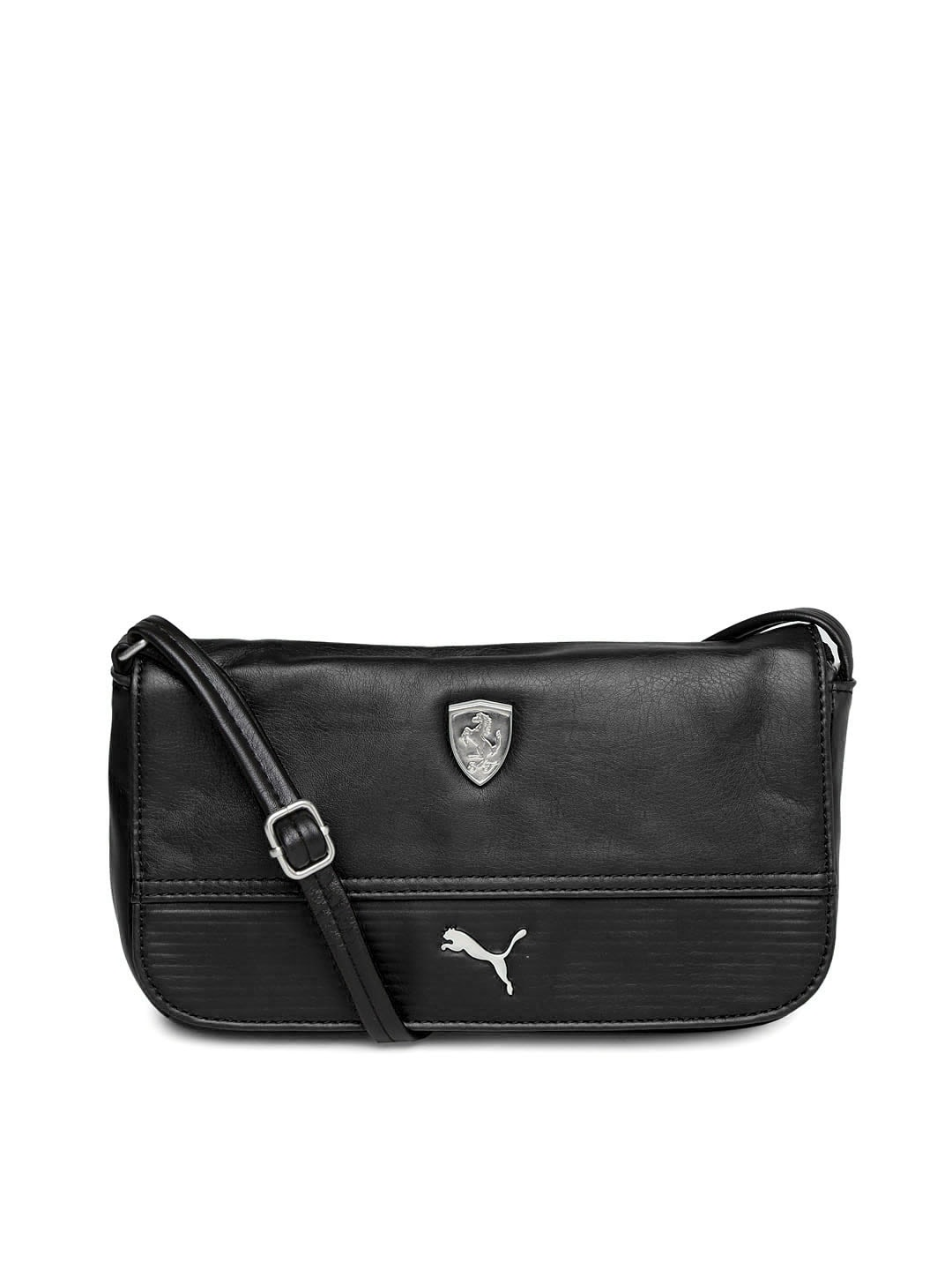 Puma 7349801 Black Ferrari Sling Bag - Best Price in India  d3fcbd290b407