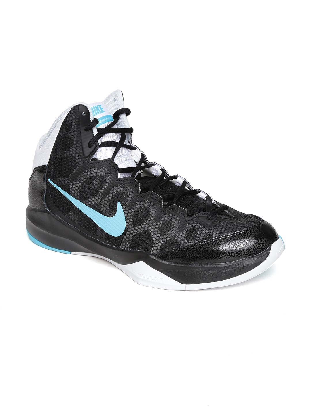 c6fb5e0f9286 Nike 749432-003 Men Black Zoom Without A Doubt Running Shoes ...