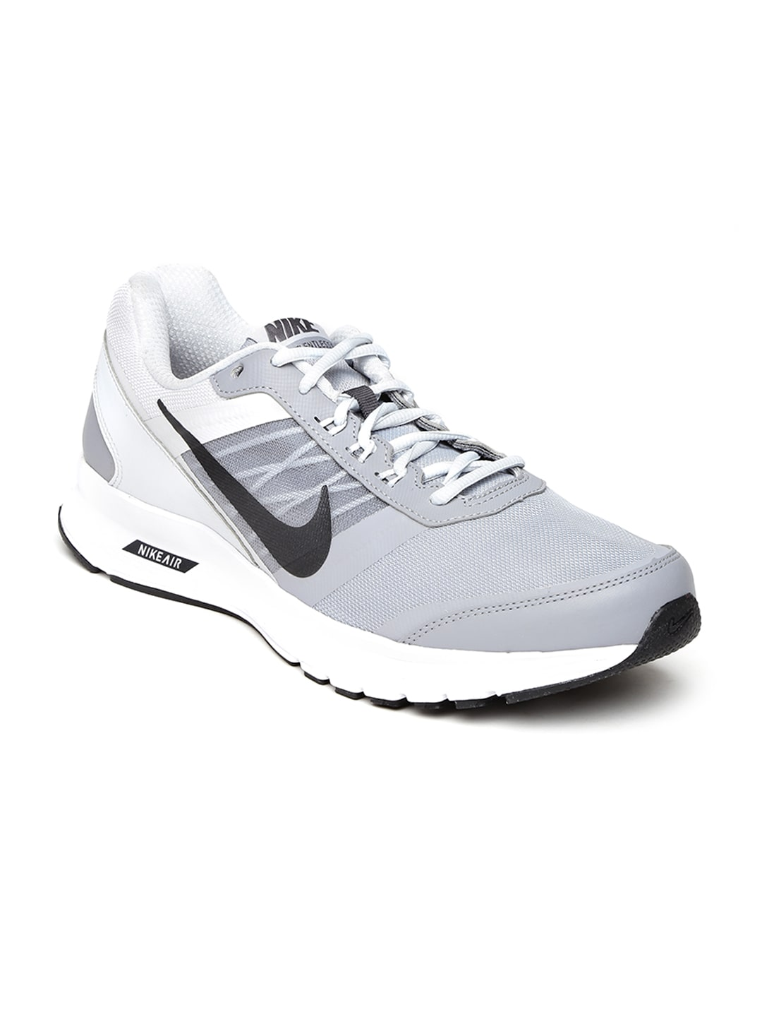 6c193e45fd2 Nike 807093-005 Men Grey Air Relentless 5 Msl Running Shoes ...