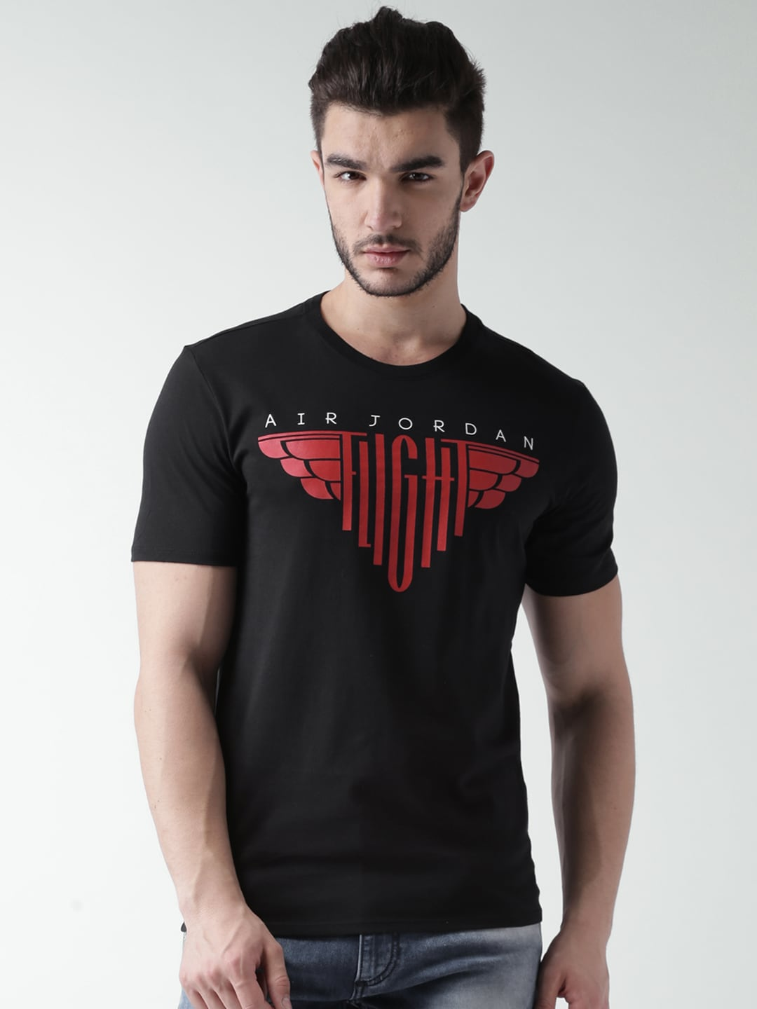 303119a7 Nike 810794-010 Black Air Jordan T Shirt - Best Price in India | priceiq.in