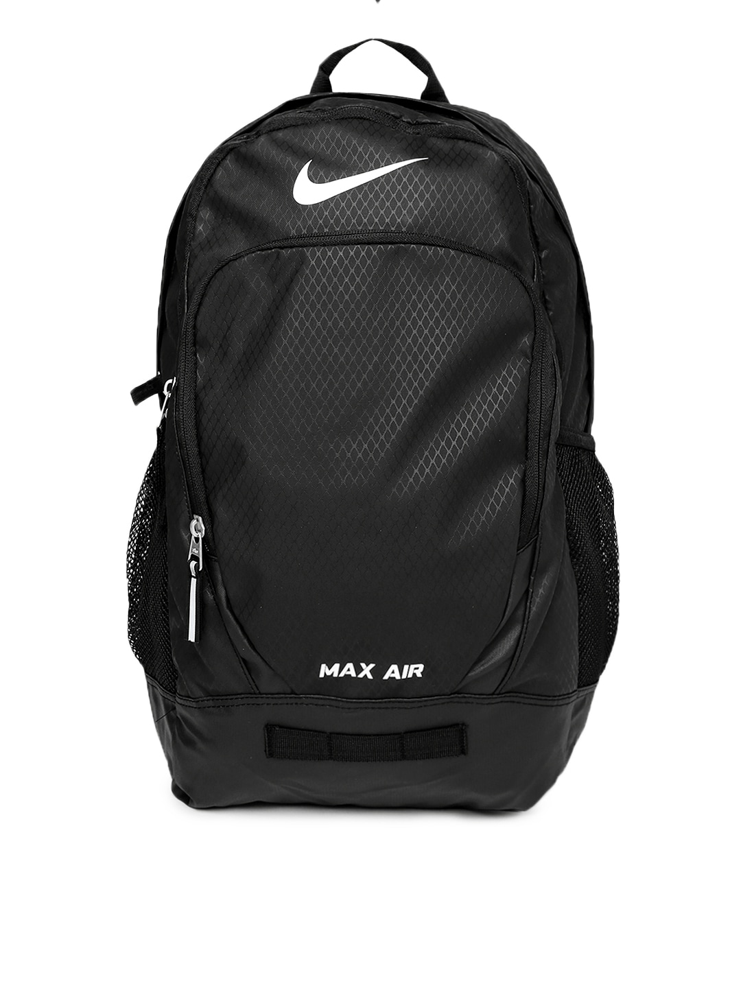 new style fccff 341ac Nike ba4890-001 Unisex Black Team Training Max Air Backpack- Price in India