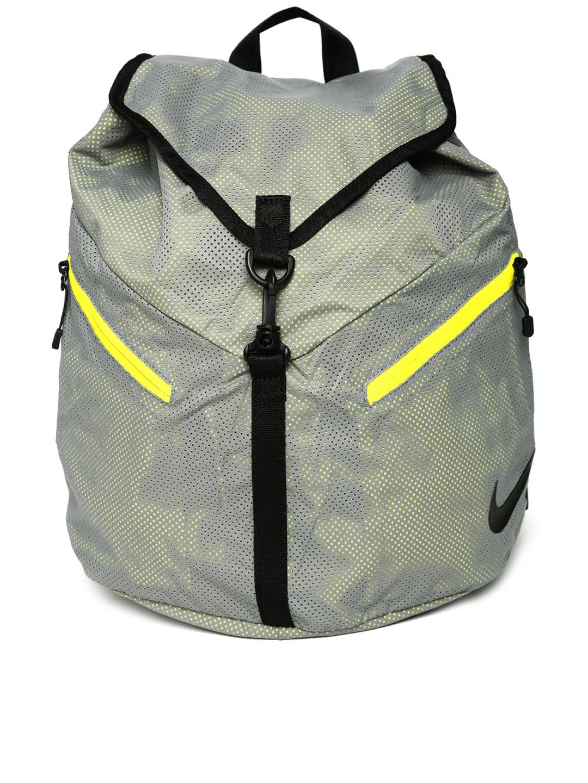 3f433cd1593f Nike ba4930-012 Women Grey Azeda Perforated Backpack - Best ...