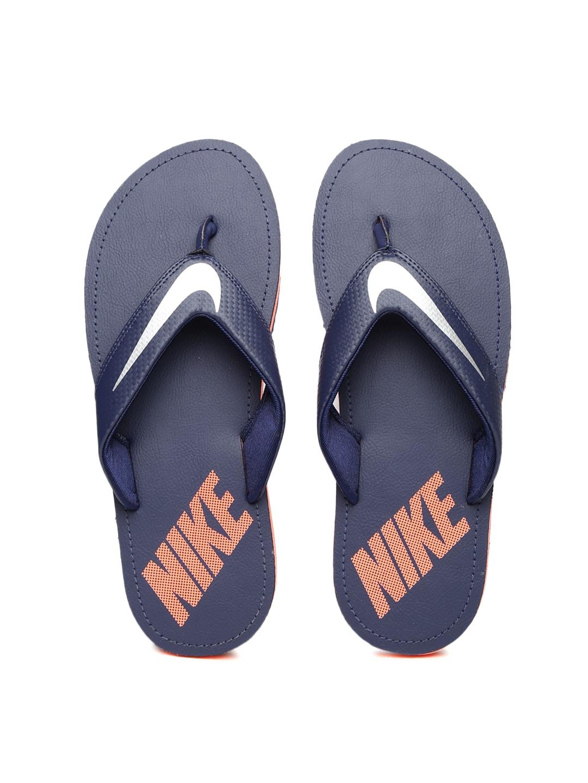 aad26bbae649 Nike 724324-403 Men Navy Chroma Flip Flops - Best Price in India ...