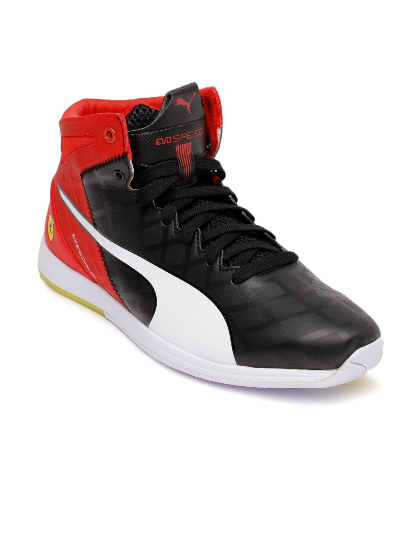 33758bd696f2 Puma 30568001 Men Black And Red Ferrari Casual Shoes- Price in India
