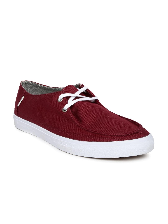 7ed50730258 Vans vn-019lgwg Men Maroon Rata Vulc Sf Casual Shoes - Best Price ...