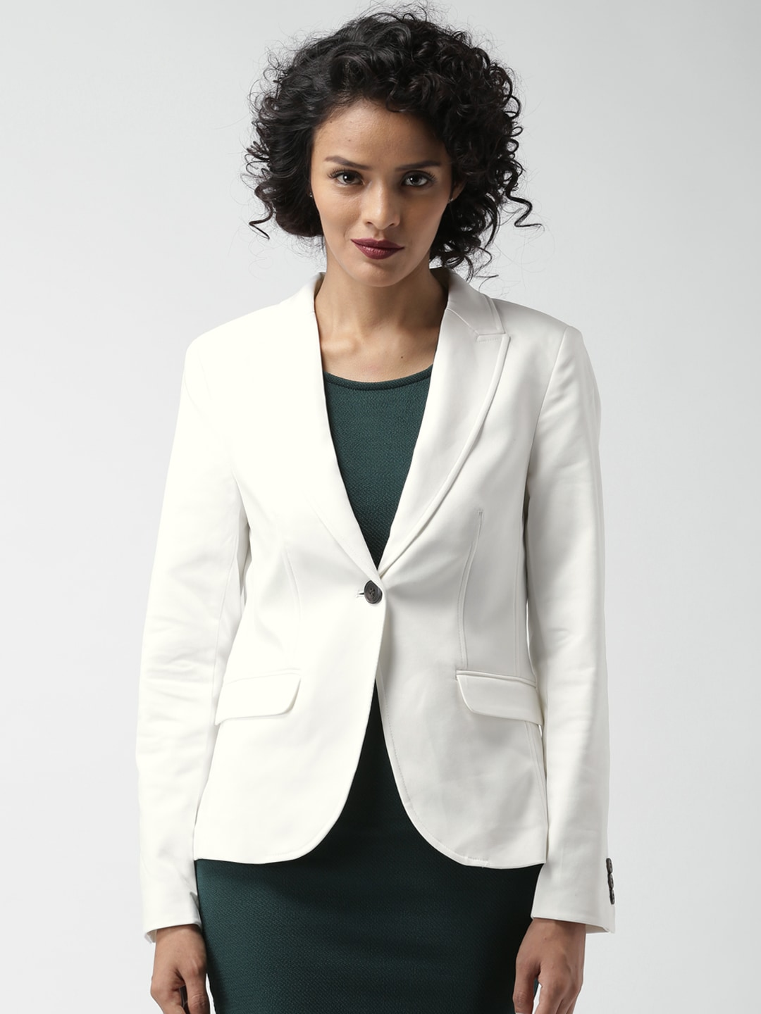 e08f908c0bd7 Forever 21 52289087-cream Off White Jacket - Best Price in India ...