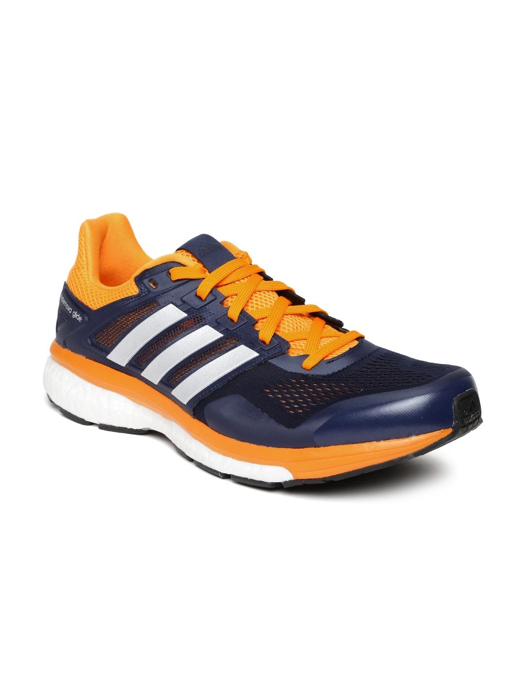 4e4dd213d1ef0 Adidas af6548 Men Navy Supernova Glide 8 Running Shoes- Price in India