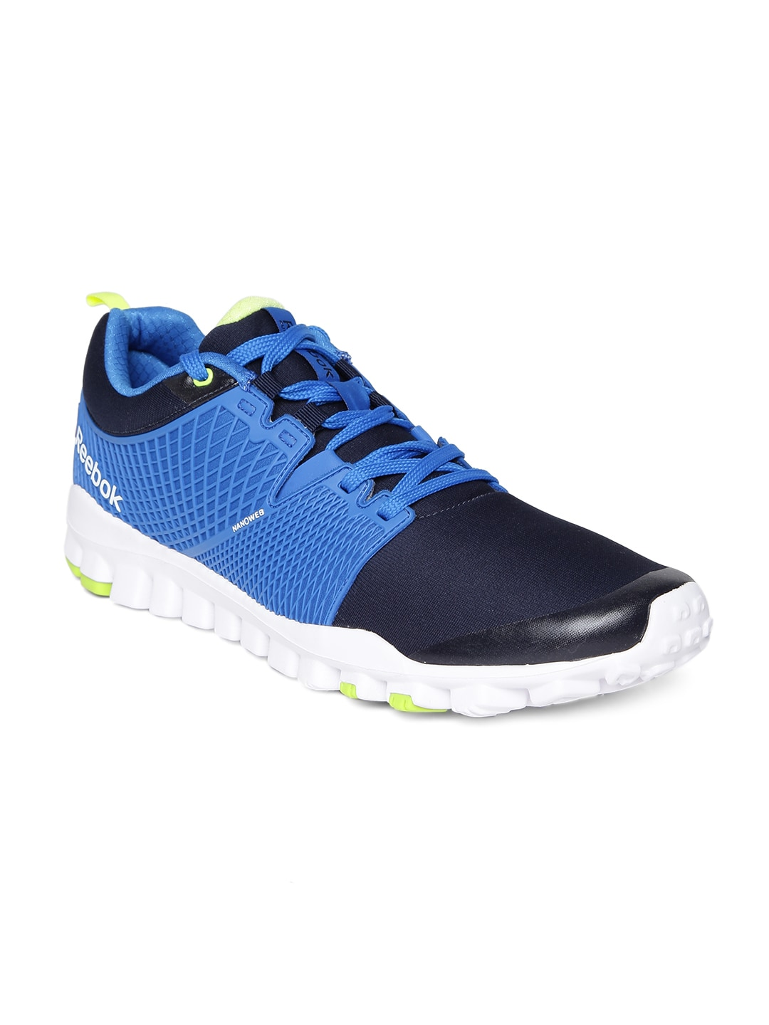1d76e9885705 Reebok ar0926 Men Blue Quick Tempo Flex Running Shoes- Price in India