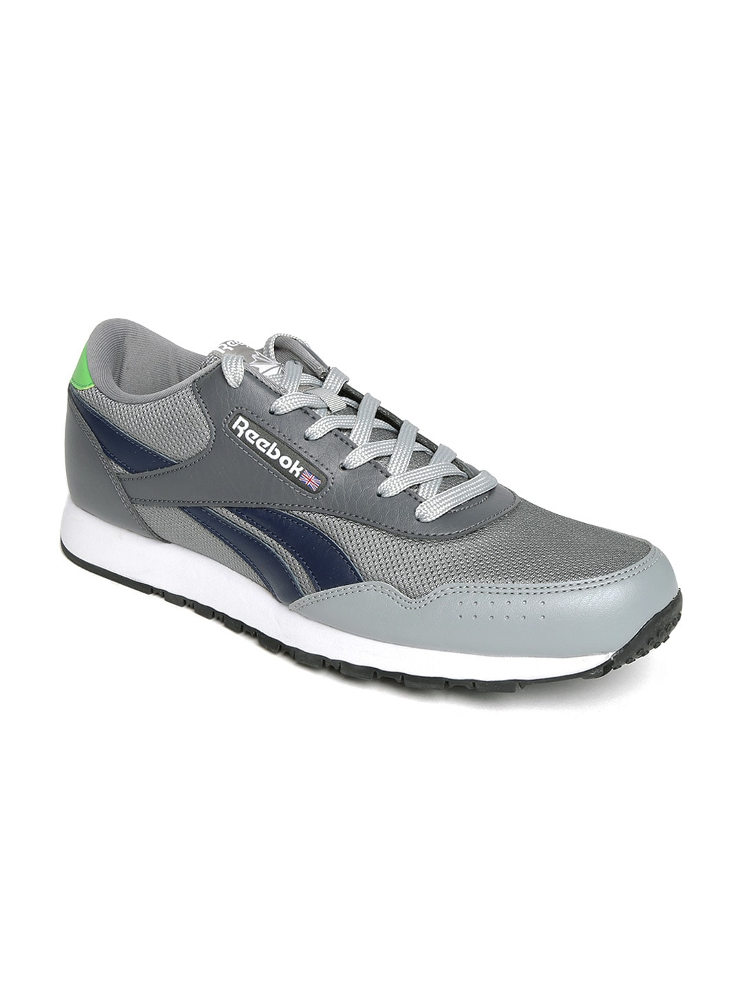 694f4dbb2f9608 Reebok ar1733 Classic Men Grey Protonium Casual Shoes- Price in India