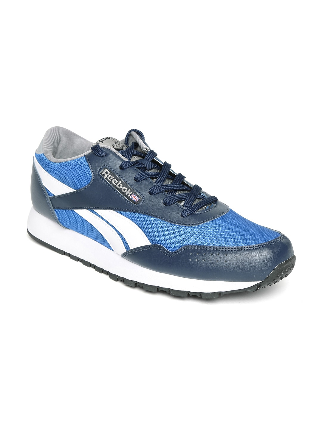 ebbc2ffec60f4 Reebok ar1739 Classic Men Blue Protonium Casual Shoes- Price in India