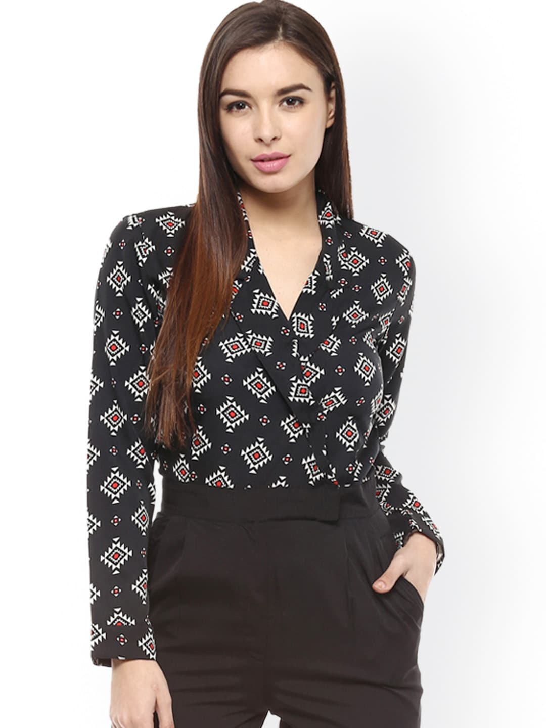 a425f321f10 Magnetic designs mdrom507 Black Printed Jumpsuit - Best Price in ...