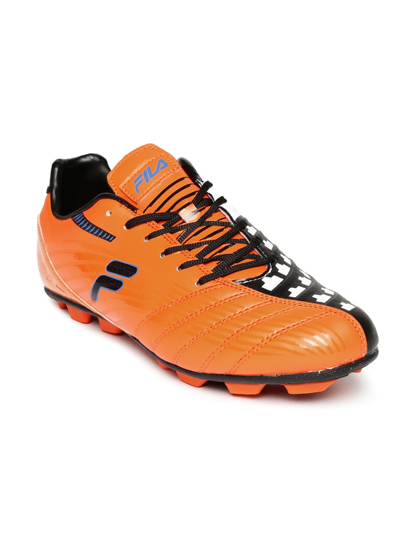 Fila 11003606 Men Orange Printed Restart Football Shoes- Price in India 0d67a7fc0c4